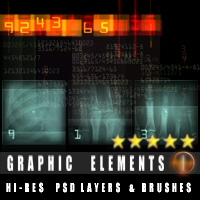 Graphic Elements 3D Models 2D Graphics designfera
