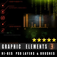 Graphic Elements 3 3D Models 2D designfera