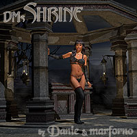 DMs Shrine 3D Models 3D Figure Assets DM