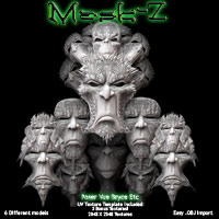 Mask-Z Themed Props/Scenes/Architecture Poisen