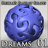 Deskar - Fantasy Shapes - Dreams 01  Deskar