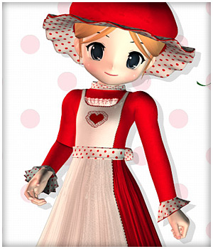 Mrs. Claus for NearMe 3D Figure Assets karanta