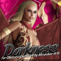 Darkness for Obscuria Outfit V4  ShanasSoulmate