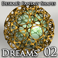 Deskar - Fantasy Shapes - Dreams 02   Deskar