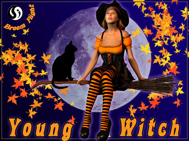 Young Witch: Broom Flight