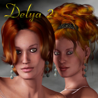 Delya 2 - Sisters for SP3 and V3  SaintFox