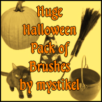 Huge Halloween Pack 3D Models 2D Graphics mystikel
