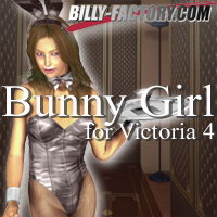 V4 BunnyGirl Set 3D Figure Assets 3D Models billy-t