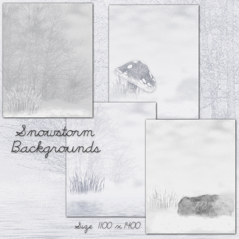 Snowstorm Backgrounds