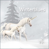 Winterblues 3D Models 2D Graphics Makena