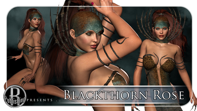 Blackthorn Rose Character & Clothes V4 & A4