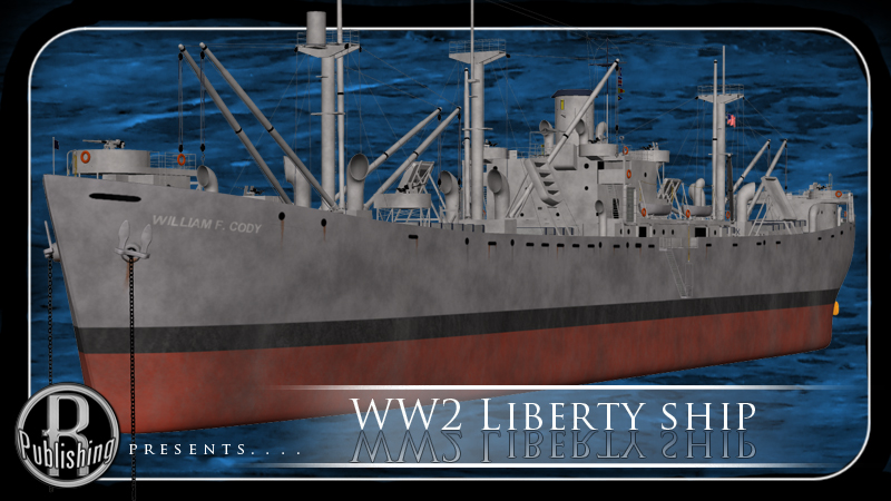 WW2 Liberty Ship