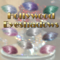 Hollywood Eyeshadows 2D 3D Models Holly