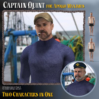 Captain Quint for Apollo Max 3D Figure Essentials ExprssnImg