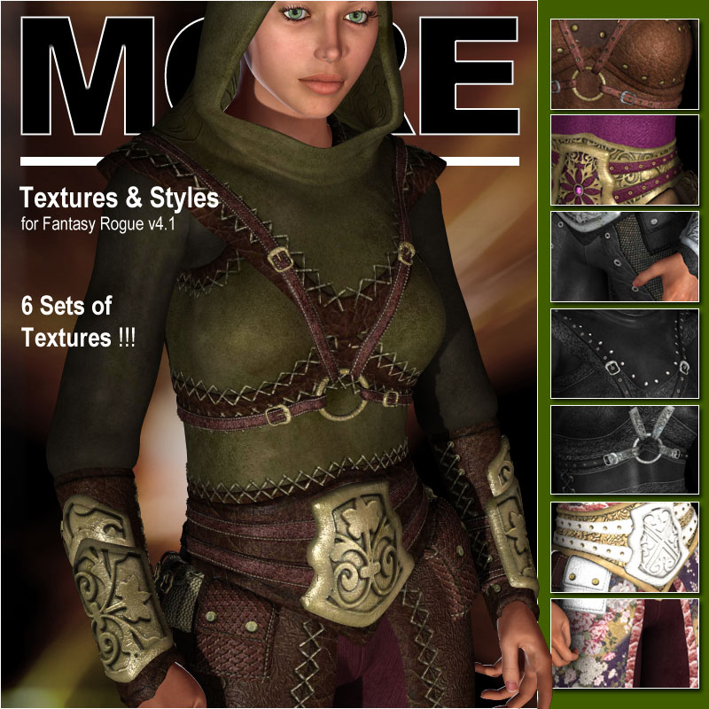 MORE Textures & Styles for Fantasy Rogue v4.1