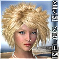 Helios Hair 3D Figure Essentials Mairy