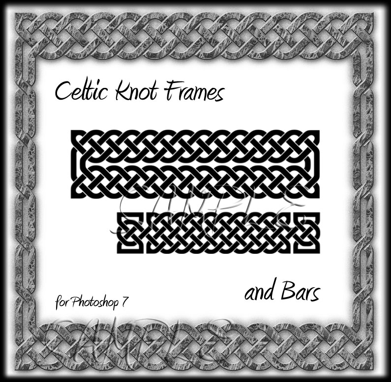 Celtic Knot Frames & Bars
