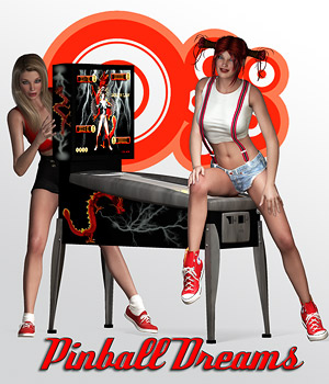 Pinball Dreams 3D Figure Essentials 3D Models ilona
