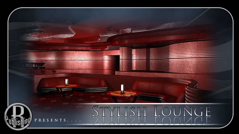 Stylish Lounge (Poser & Vue)