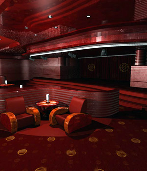 Stylish Lounge (Poser & Vue) 3D Models RPublishing