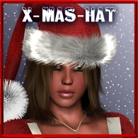 Xmas-Hat for Vicky 4 and Postwork 3D Models 3D Figure Assets kaiZ