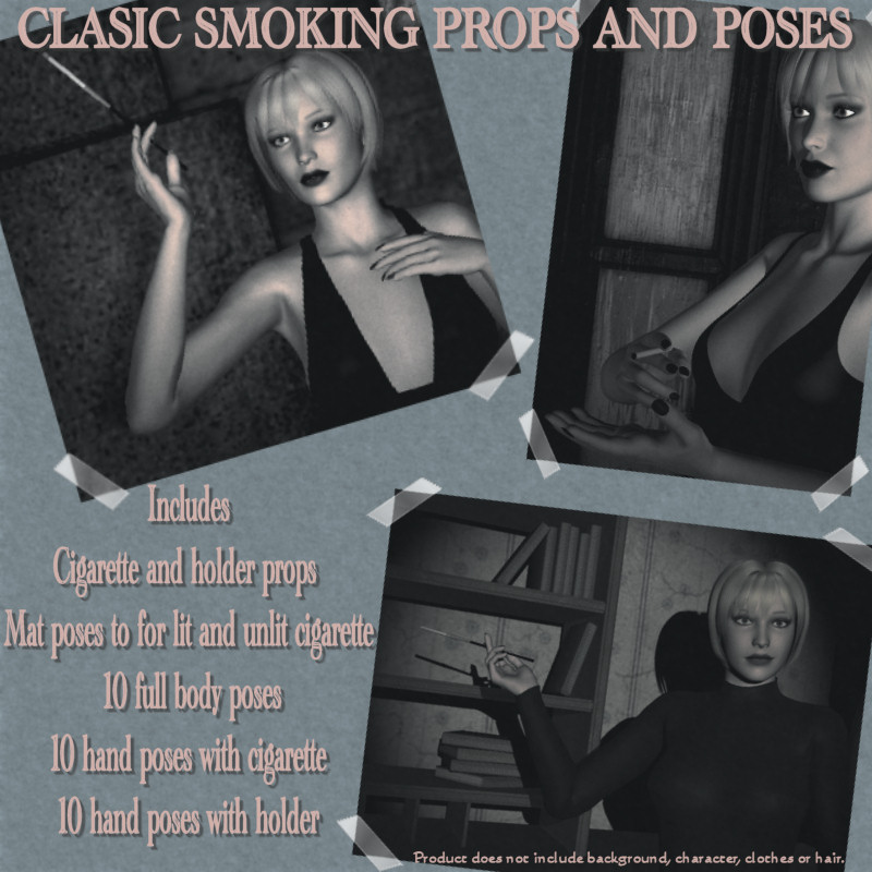 Classic Smoking Poses