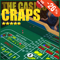 The Casino - Craps 3D Models Gaming Extended Licenses SolidusSoft