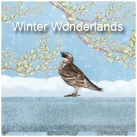 Winter Wonderlands Themed 2D And/Or Merchant Resources Makena