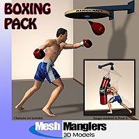 Boxing Pack 3D Models keppel