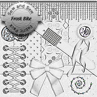 Sew and Sew Frost Bite Fabric Pack 2D 3D Models macatelier