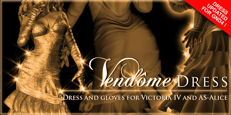 Vendome dress for AS-Alice & GND4