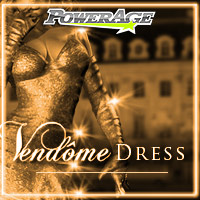 Vendome dress for AS-Alice & GND4 3D Figure Essentials 3D Models powerage