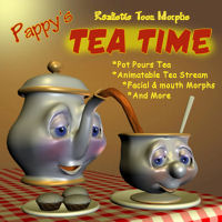 Tea Time 3D Models pappy411