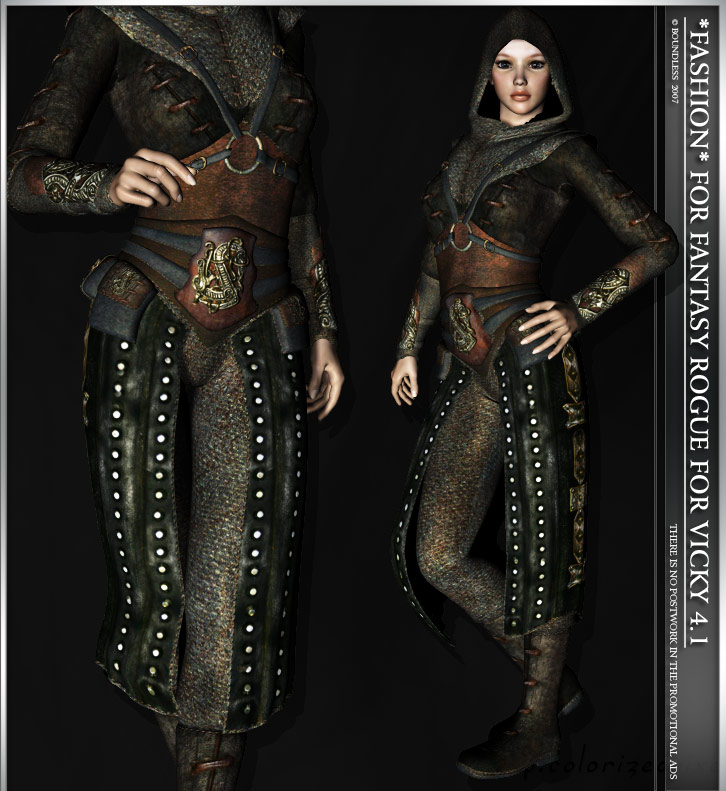 *Fashion* for Fantasy Rogue for Vicky 4.1