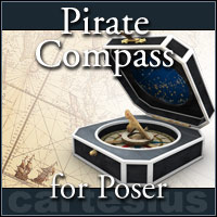 Pirate Compass by cartesius