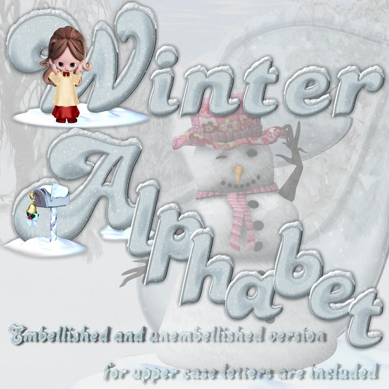 Winter Alphabet
