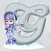 Winter Alphabet 3D Models 2D Graphics dorkati