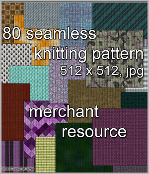 Knittings 4 - A Merchant Resource 2D Graphics Merchant Resources karanta