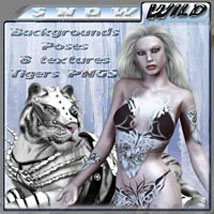 Snow Wild 3D Figure Assets 3D Models 2D Graphics ilona