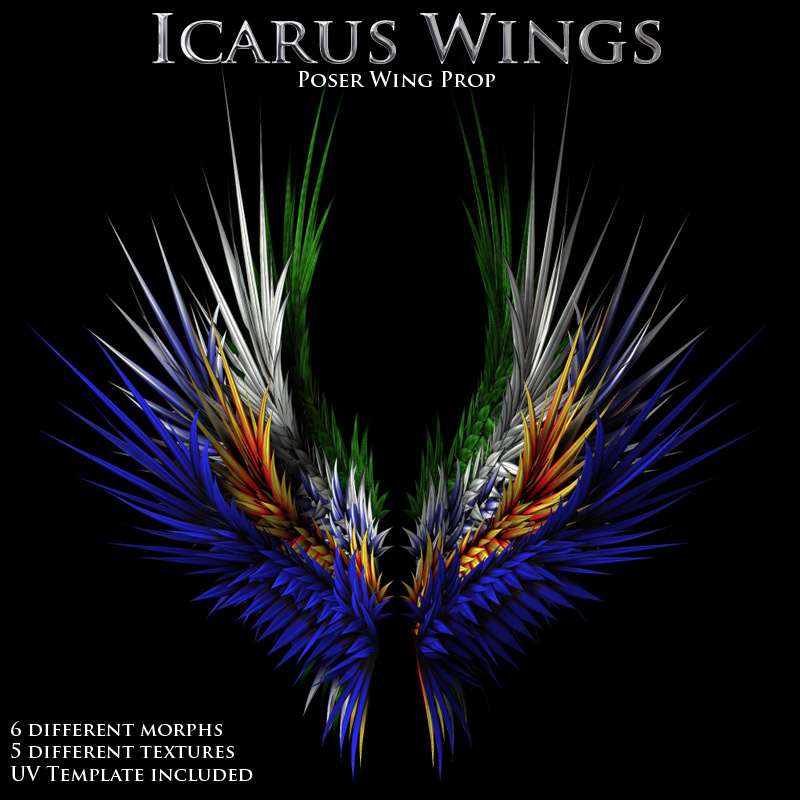 Icarus Wings by Poisen