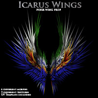 Icarus Wings  Props/Scenes/Architecture Themed Poisen