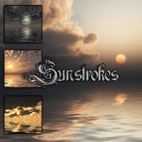 Sunstrokes Sea & Sky Backgrounds 2D dantescanto