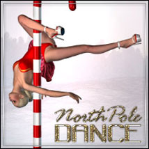 NorthPole-Dance - PinUp for V4 3D Figure Assets 3D Models outoftouch