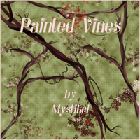 Painted Vines  2D And/Or Merchant Resources mystikel