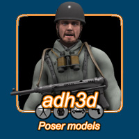 WW2 German Paratrooper  adh3d