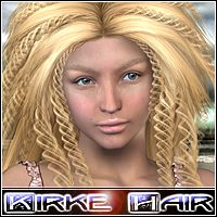 Kirke Hair 3D Figure Essentials Mairy