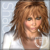 °Selene Shades° Textures for Selene Hair by Plus3d & Mairy 3D Figure Essentials outoftouch