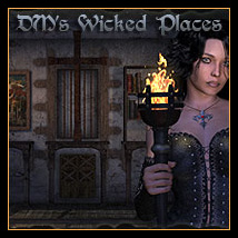 DM's Wicked Places Software Poses/Expressions Themed Props/Scenes/Architecture Danie