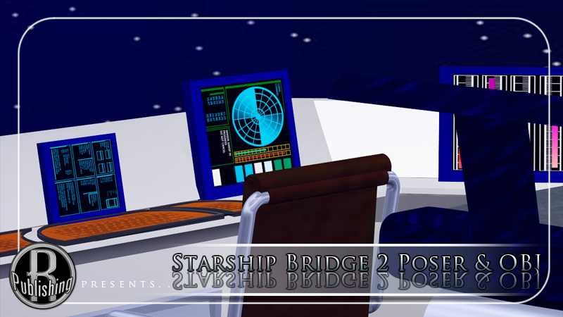 Starship Bridge 2 (Poser & OBJ)
