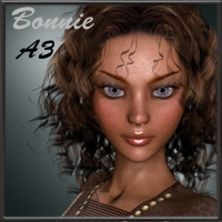 Bonnie for Aiko 3 3D Figure Essentials 3D Models kaiZ